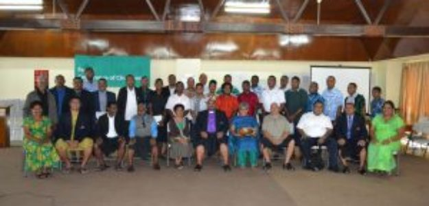27 Graduate from First Male Advocacy Workshop with Churches