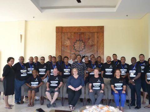 2017 FWCC/AFP Regional Executive Police Training (31 July – 4 Aug)