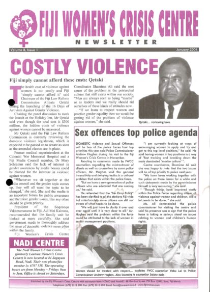 FWCC Issue January 2004