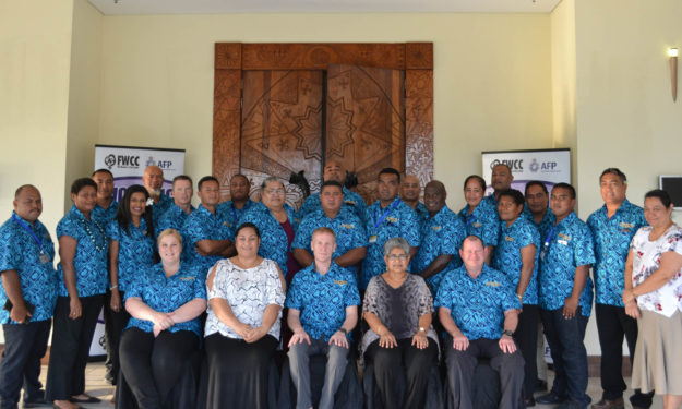 2017 FWCC/AFP Regional Executive Police Training (20 – 24 November)