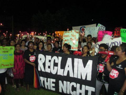 Reclaim The Night march, Ba Women's Crisis Centre