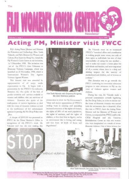 FWCC Issue April 1999