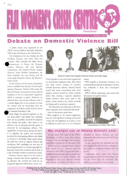 FWCC Issue August 1999