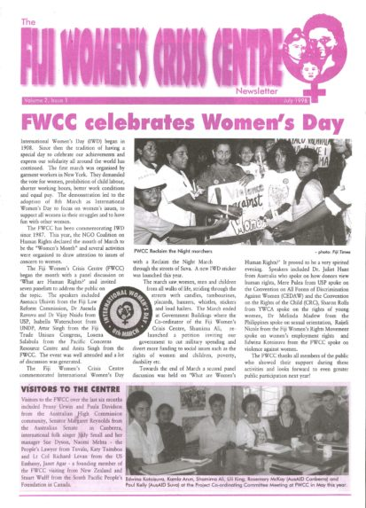FWCC Issue July 1998
