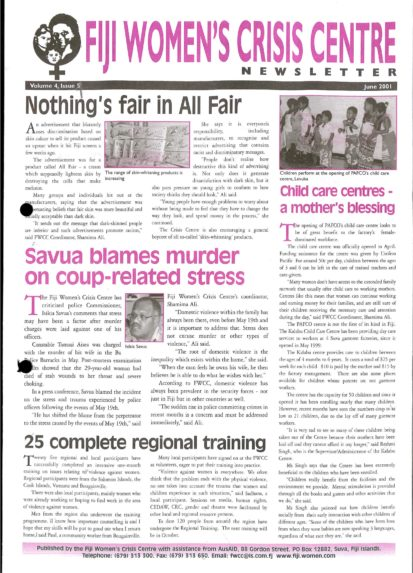 FWCC Issue June 2001