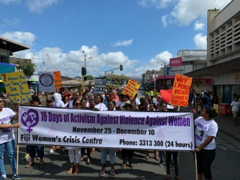 2019 FWCC 16 Days of Activism March